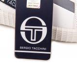 Baskets blanches stm917003 Homme SERGIO TACCHINI marque pas cher prix dégriffés destockage